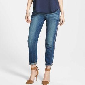 Dl1961 Azalea Relaxed Skinny Jeans Side Stripe